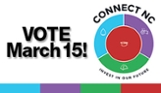 Vote March 15! Connect NC Bond