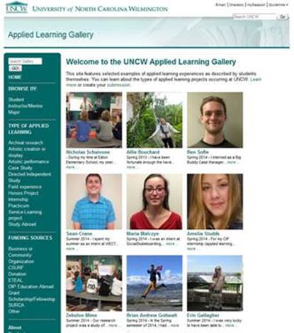 Online Applied Learning Gallery Launched