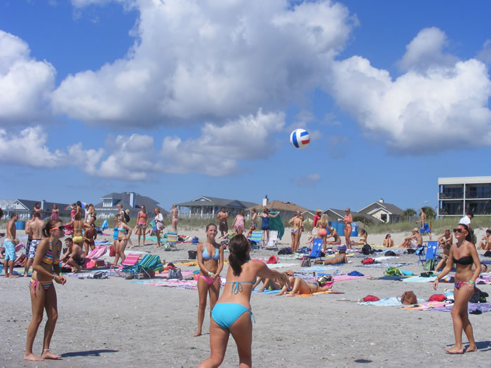 Beach Blast beach volleyball