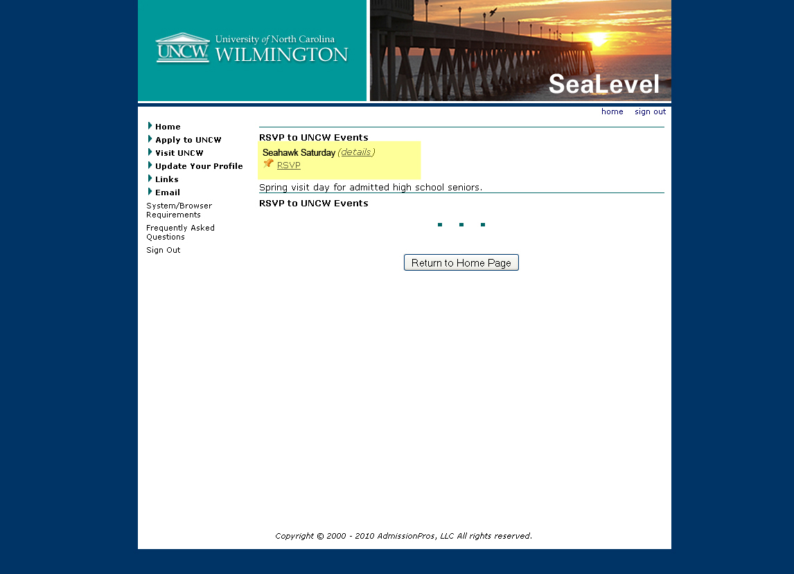 Do you believe I will get accepted into UNC Wilmington?