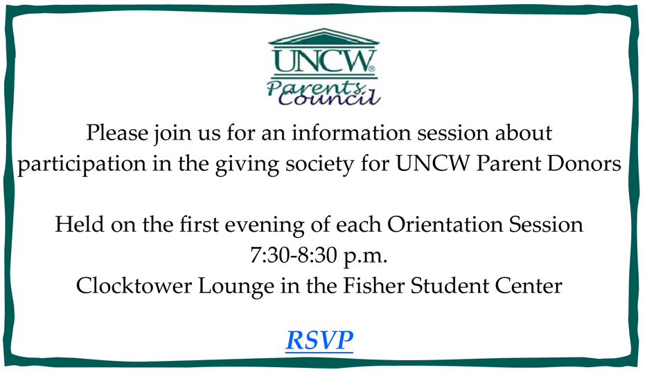 Orientation PC Event Invitation