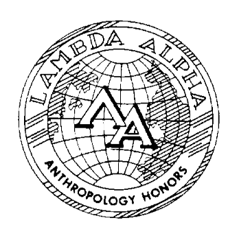 Lambda Alpha Anthropology Honors logo
