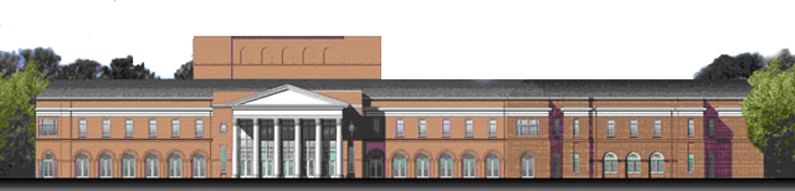 Cultural Arts Building Rendering