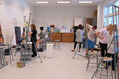 One of Two Painting Studios