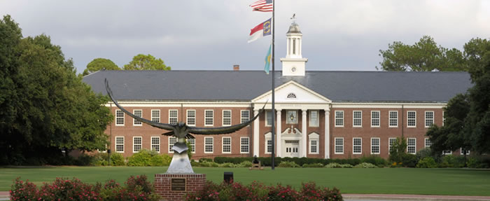 Hoggard Hall on the UNCW campus