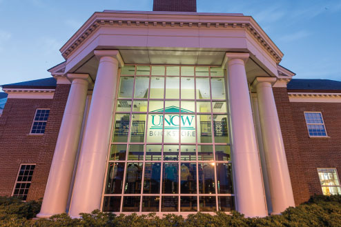 UNCW Bookstore Building
