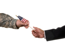 military to civilian hands