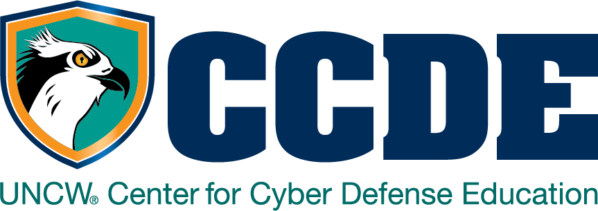 UNCW Center for Cyber Defense Education Logo