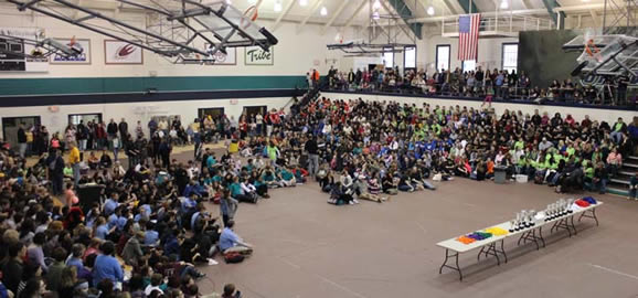 Hanover Gym Filled to the Brim with NCSO Contestants, Coachs, and Parents