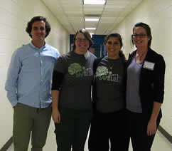 UNCW NSTA Student Chapter Members at the 2013 Regional Science Fair