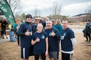 UNCW Police Officers at a charity run