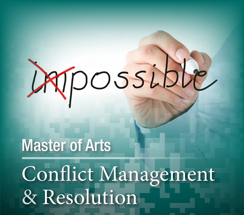 Conflict Management and Resolution Possible