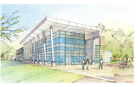 proposed marbionc building artist's rendering