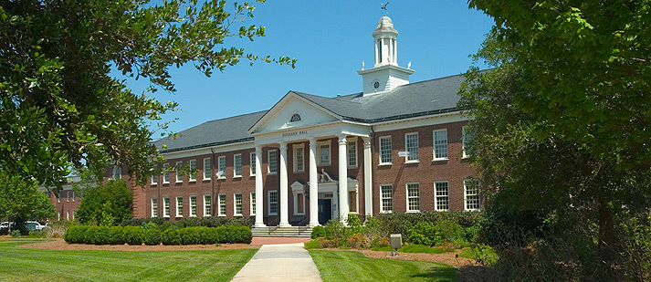 Hoggard Hall is location of the Controller's Office of UNCW