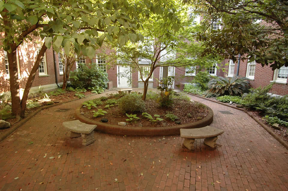 Picture of Deloach Hall Courtyard