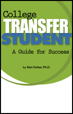 Book Cover, College Transfer Students A Guide