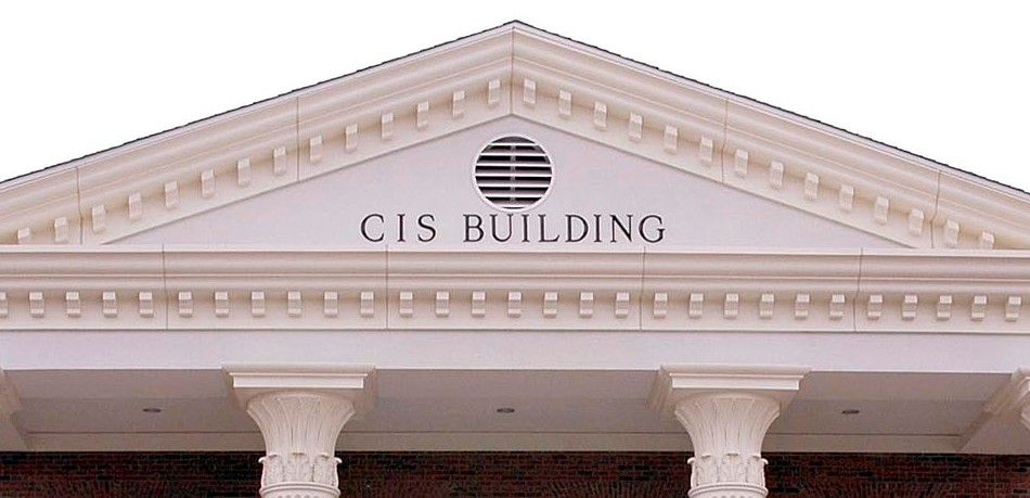 Cornice of CIS building