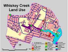 Whiskey Creek Land Use Map