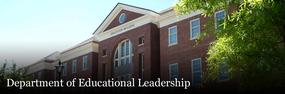 Ed.D. in Educational Leadership in the Department of EL