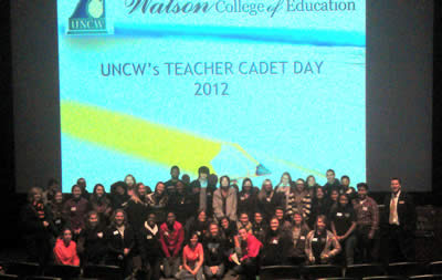 Teacher Cadet Day Fall 2012