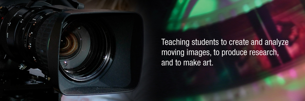 Camera and Film - Teaching students to create and analyze moving images, to produce research, and to make art.
