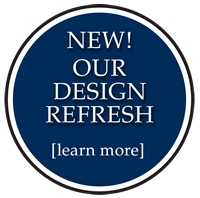 New! Our Design Refresh. Learn More.