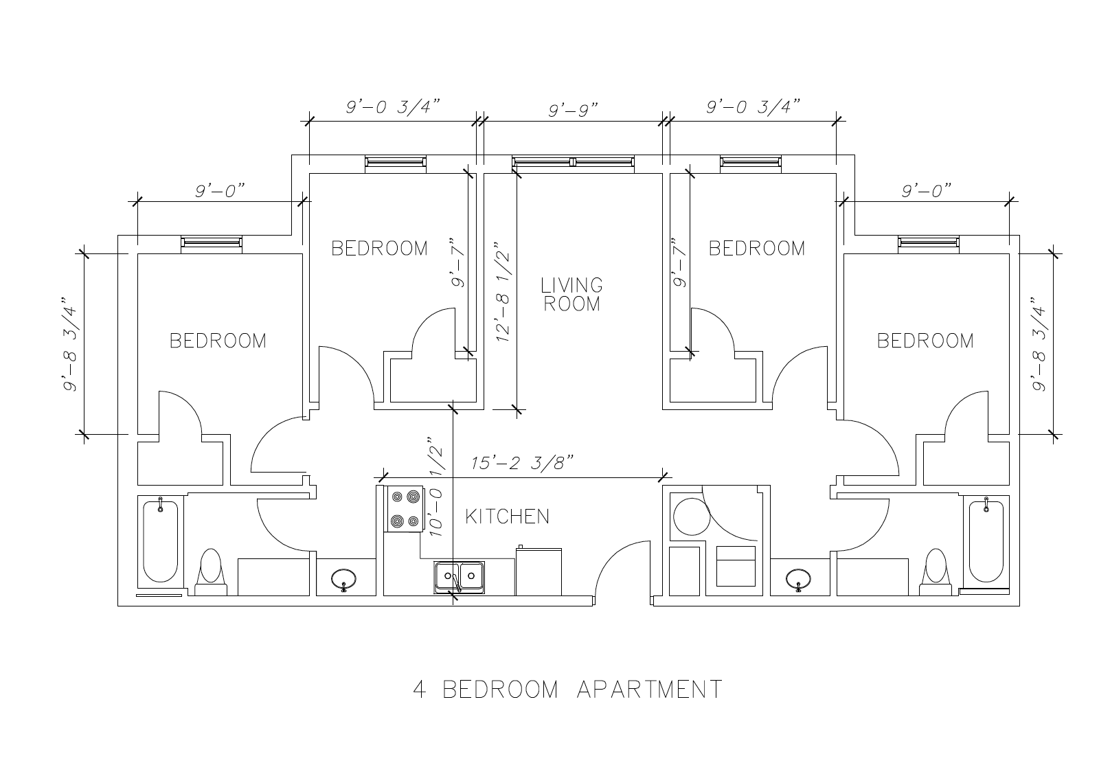 Uncw housing for Seahawk 4 floor dimensions