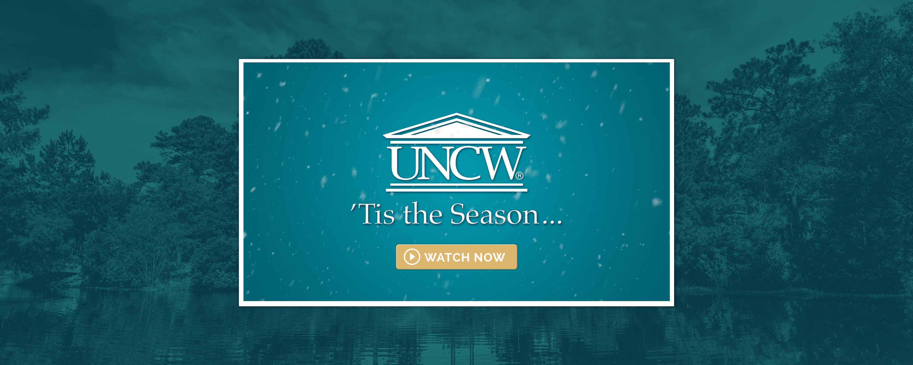 UNCW Holiday card video
