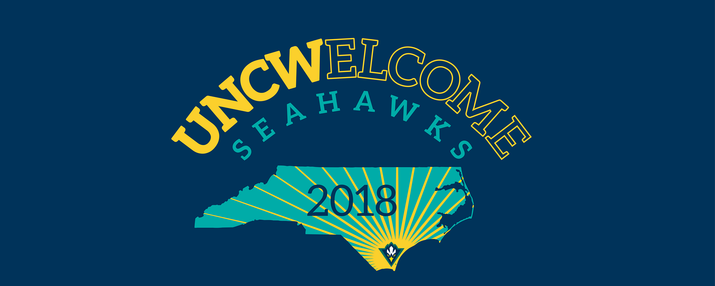 UNCWelcome 2018 banner