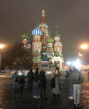 Panda Powell in Russia