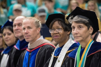 Faculty at Convocation 2017