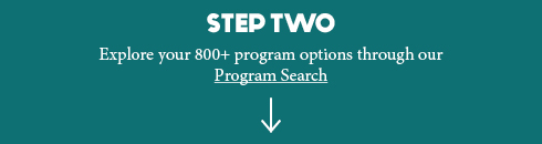 Step Two Search for a program