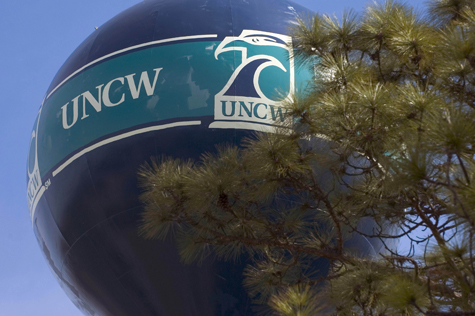 Picture of the UNCW water tower