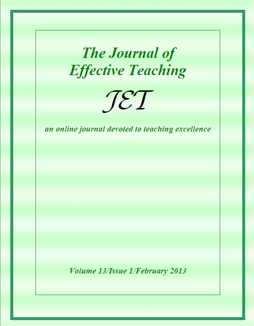 effective teaching articles 2010