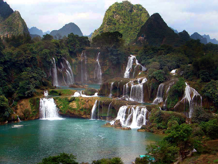 Chinese Waterfall