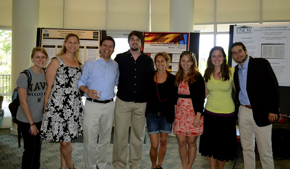 Graduate Students at FLL Research Day