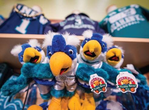 UNCW Licensed Merchandise at UNCW Bookstore