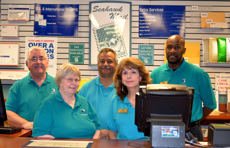 Meet the great staff at Seahawk Mail