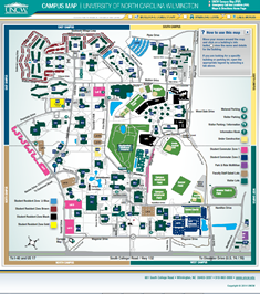 Maps And Directions UNCW
