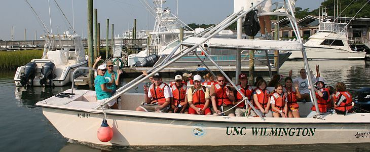 UNC Wilmington MarineQuest Marine Science Summer Camps and Summer Programs