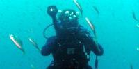 teen scuba diving camp underwater photographer
