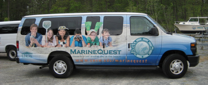 MarineQuest van photo