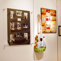 Items on display at the Boseman Gallery Philip J. Merrill exhibition, Jan. 12-Feb. 16, 2012.