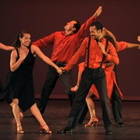 Los Angeles-based dance company CONTRA-TIEMPO at UNCW on Oct. 1, 2010