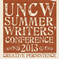 UNCW Summer Writers Conference Poster