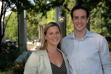 New faculty: Dr. Jennifer Biddle and Dr. Christopher Prentice