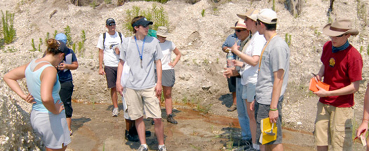 Coastal Plain Geology field trip