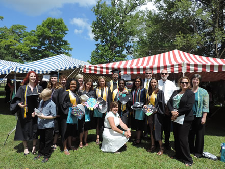 UNCW Onslow Extension Graduation 2015
