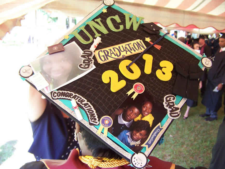 2013 graduation cap decoration