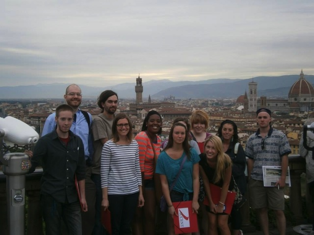 Students from Study Abroad 2013